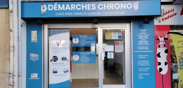 DEMARCHES CHRONO